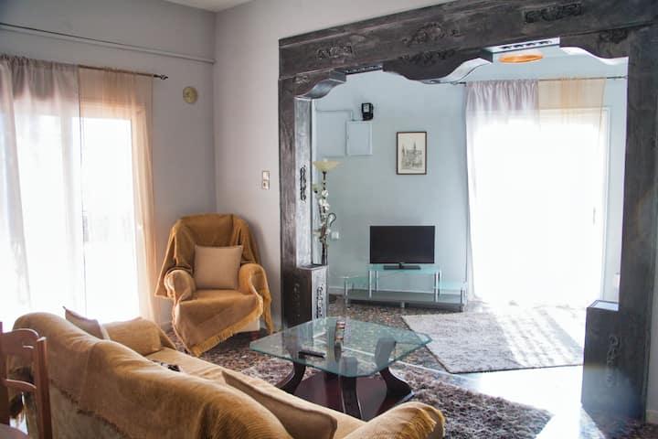 2 Bedroom Apart. in Tirnavos City Center-1st floor