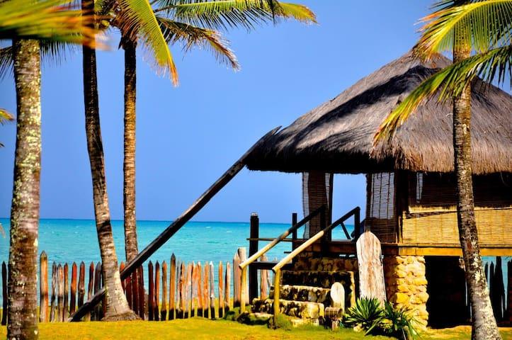 Casa na Beira da Praia de Taipús  - Barra Grande - Huis