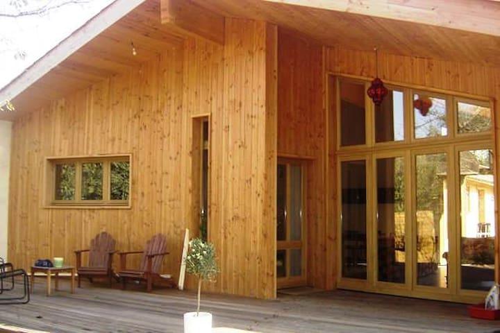 Maison en bois pres Toulouse - Longages