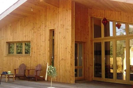 Maison en bois pres Toulouse - Longages - Rumah