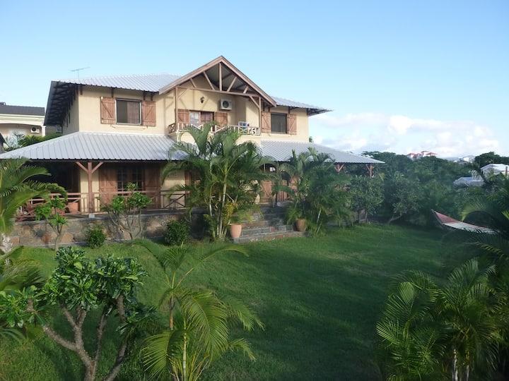 Ferienwohnung in charmanter Villa mit Palmengarten