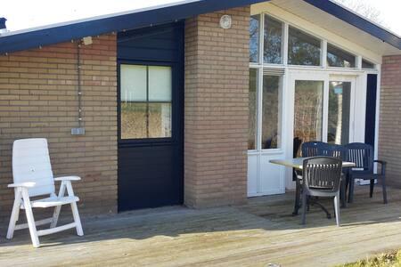 Luxe bungalow aan 't IJsselmeer - Haus