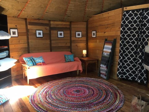 Yurt in the East Mountains
