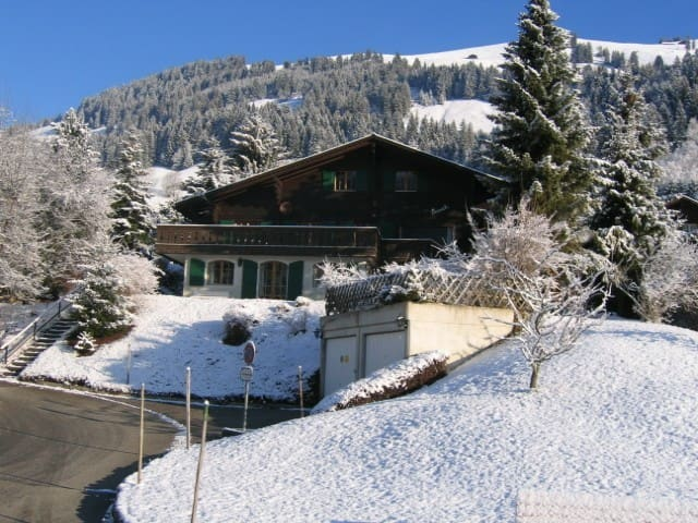Gorgeous Swiss family chalet in Rougemont-Gstaad - Rougemont - Huis