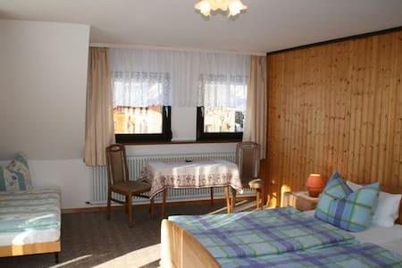 Haus Edelweiß (Zimmer), (Todtnau-Herrenschwand), Doppelzimmer 3 mit WC und Dusche