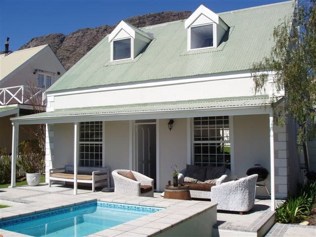 Franschhoek cottage views and pool - Franschhoek - Hus