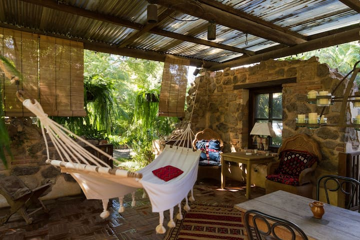 Peaceful, green courtyard house - Antigua Guatemala - Apartamento