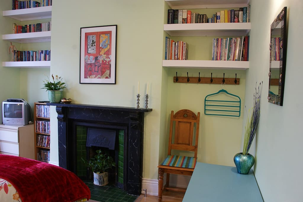 Lots of original features, including Victorian fireplace