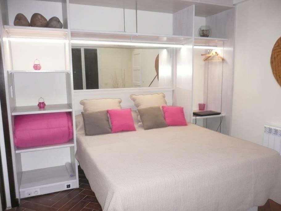 Chambre calme et confortable