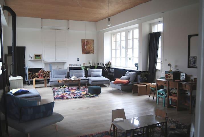 maison familiale près de Nantes - Saint-Germain-sur-Moine - Casa