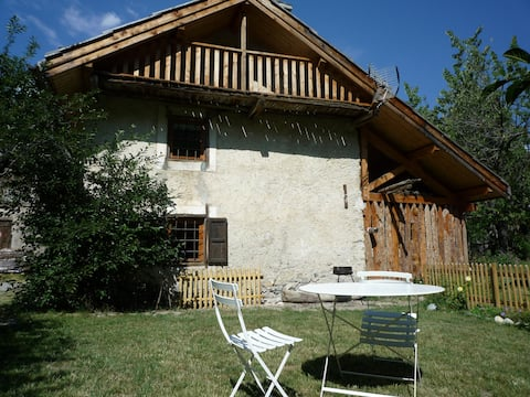 Typical lovely Alps' house