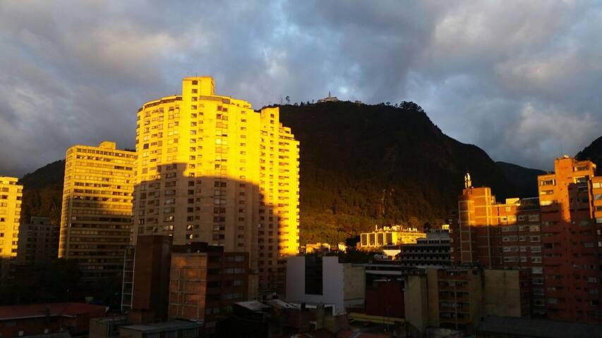 Cozy apartment with amazing view! - Bogotá