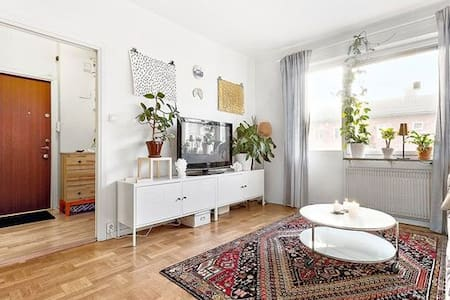 Light and nice apartment 15min to the city center - Stockholm