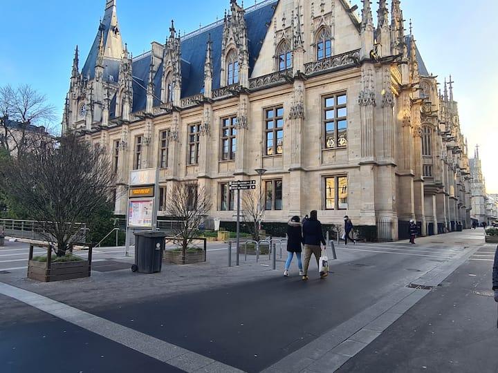 Rouen centre ville