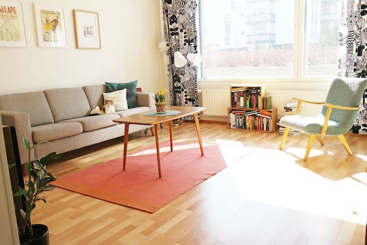 Two bedroom apartment in Jyväskylä, Lutakko - Jyväskylä - Leilighet
