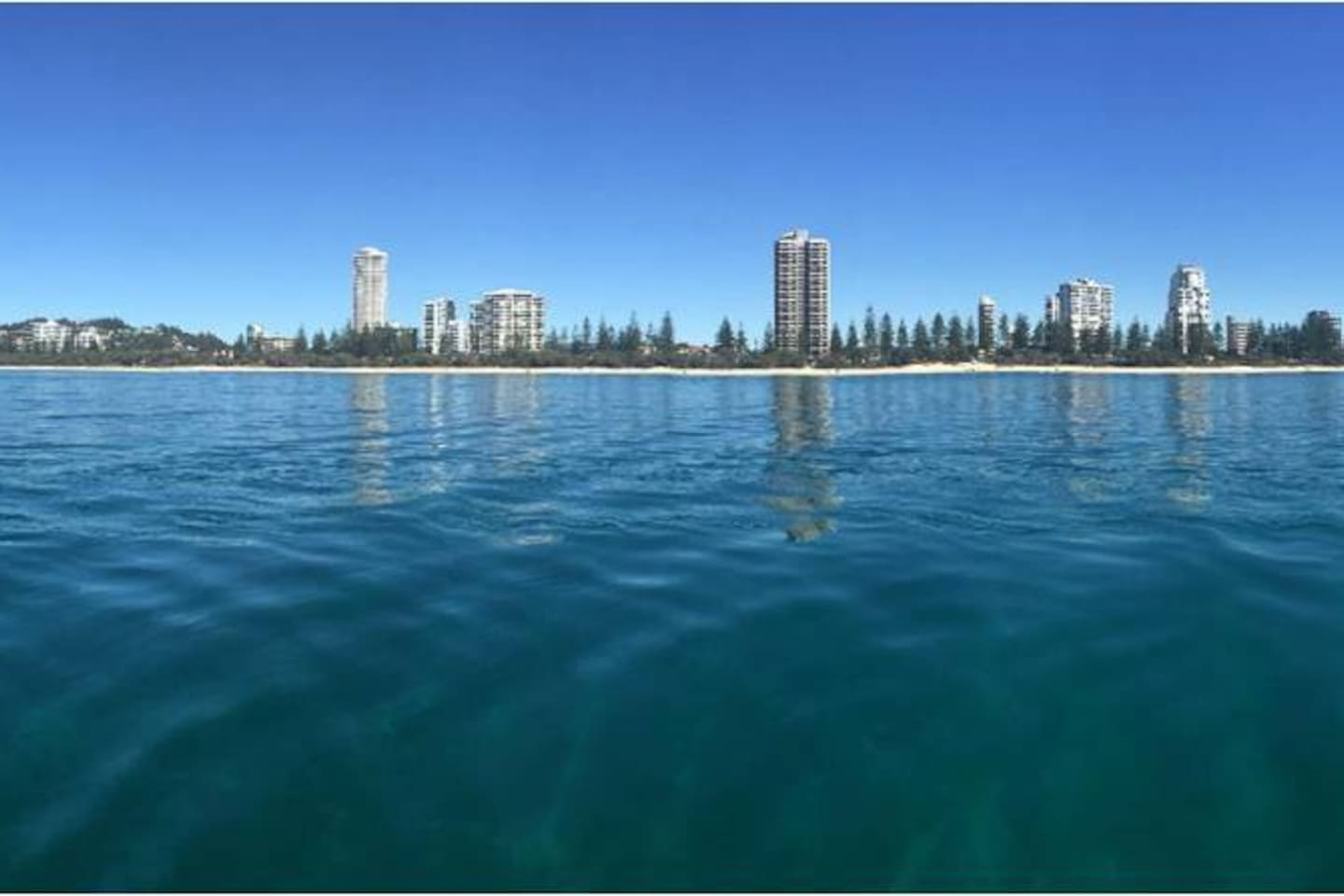 Burleigh Heads from the water