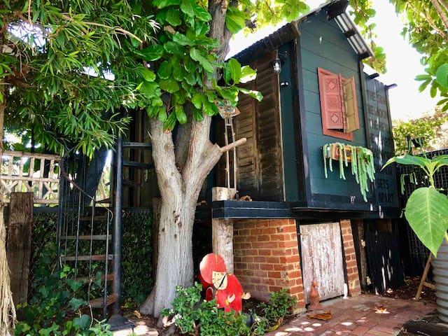 Blue Treehouse