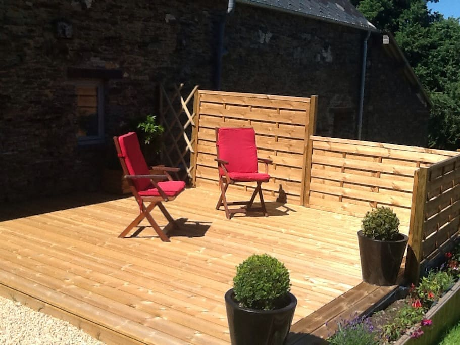 Decking area for