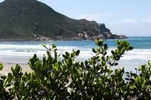 Praia do Rosa Norte.