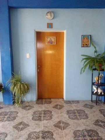 Hostería Dharma - Hab. con Cama matrimonial.