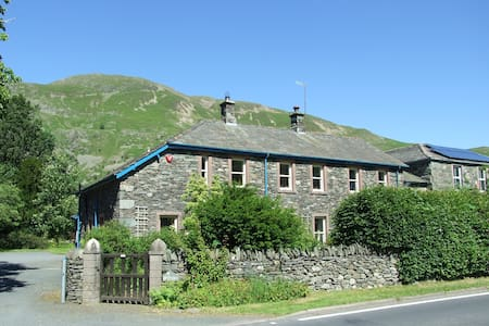 Patterdale double, mountain view, private shower