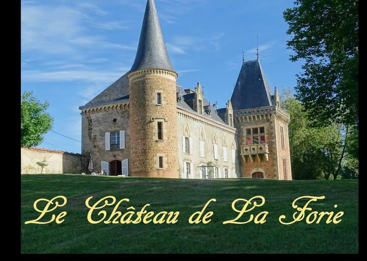 Château de la Forie, Chambres, proche d'Issoire