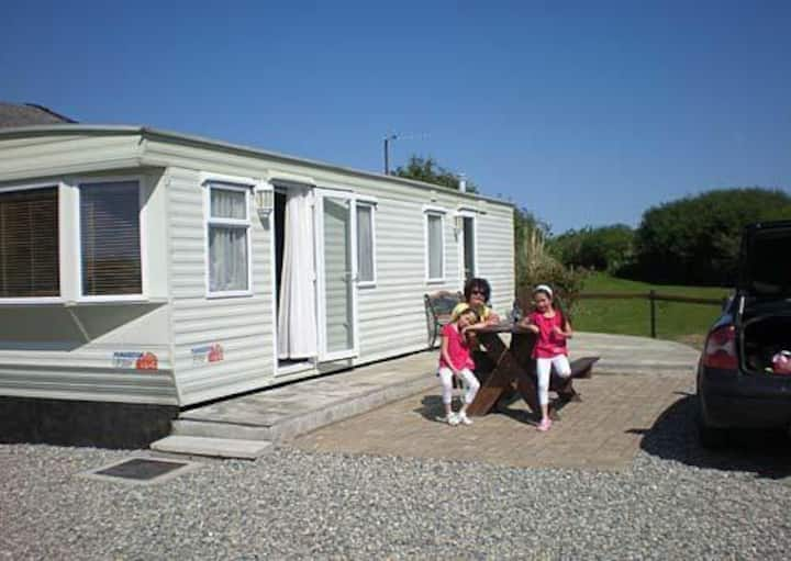Perfect caravan for a sea side holiday