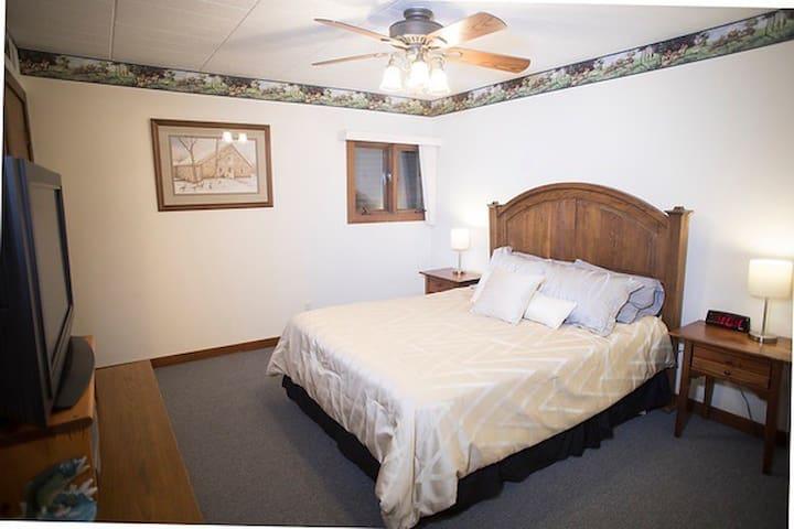 Condo - Master Bedroom