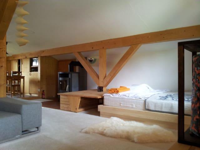 Studio Mum's AlpenBad - Plaffeien - Rumah