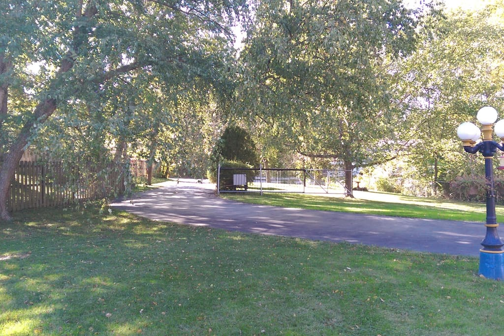 Private driveway with gated entrance. Off street parking for multiple cars