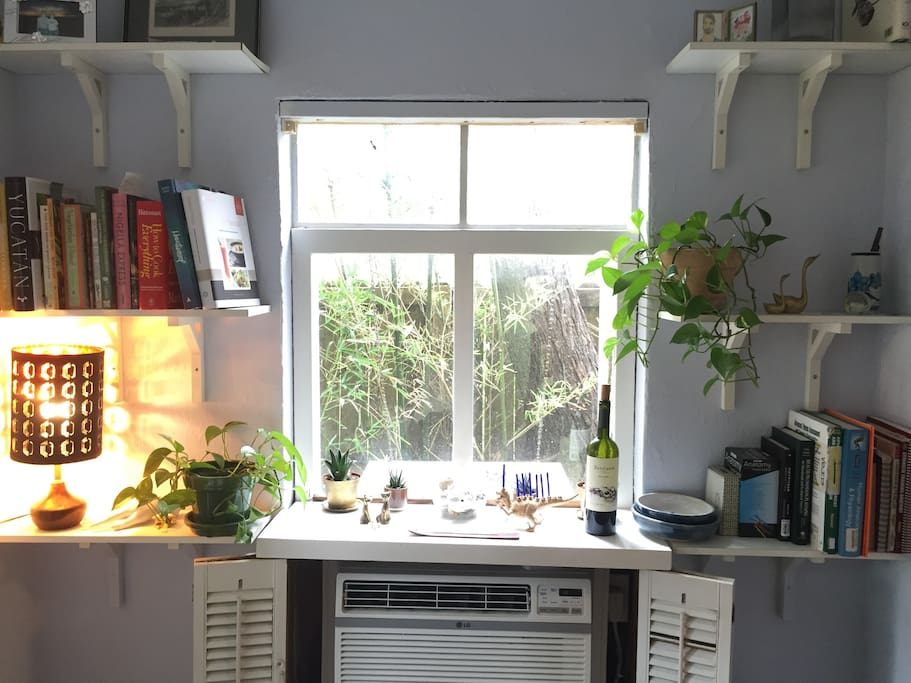 New window units (A/C).