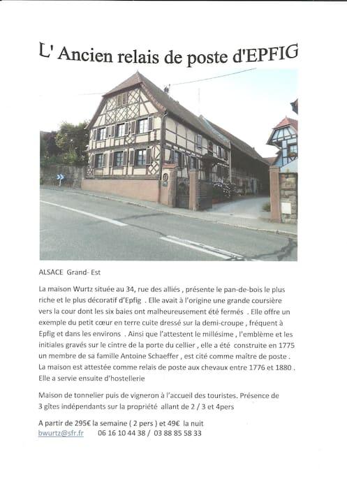L'historique de la maison Wurtz