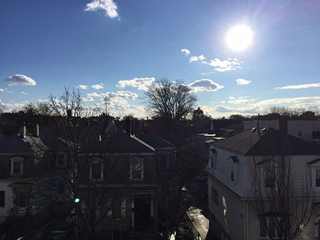 Cozy room on Winter Hill - Somerville - Apartamento