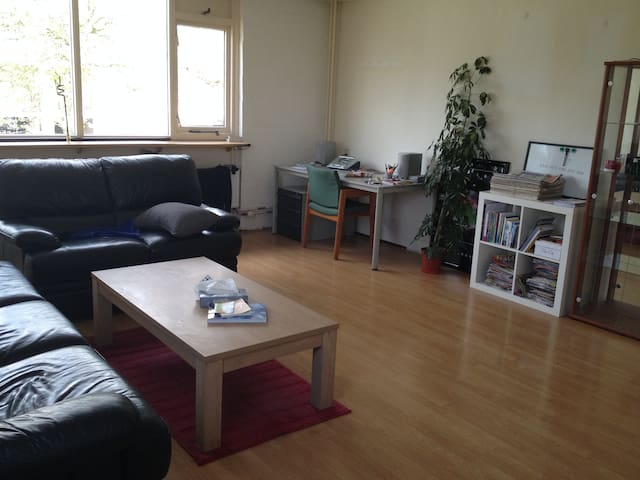 Cozy room in an apartment near to City Center - Delft - Apartament