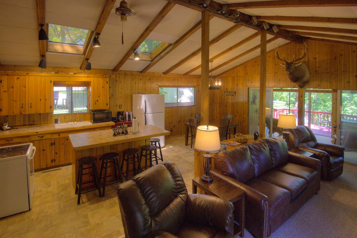 Lakefront Cabin On Calm Water Cove On Grand Lake   Cabins For Rent In New  Eucha, Oklahoma, United States