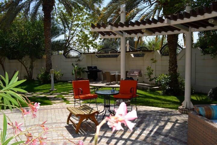 Master suite in a fantastic villa