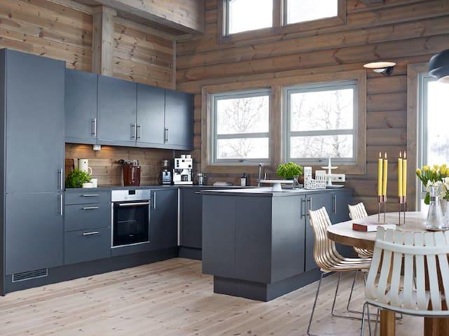 Moderne hytte ved Tyin- Filefjell- Jotunheimen