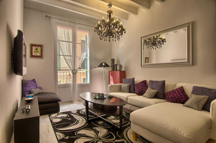Palma historic centre three bedroom apartment