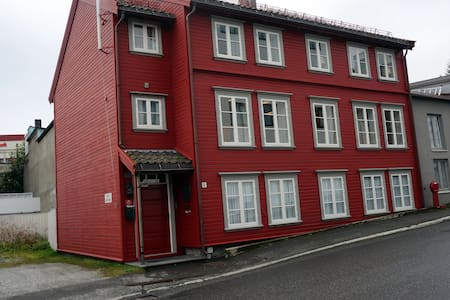 Double room (2nd) in the heart of Tromsø city - Tromsø - Rumah