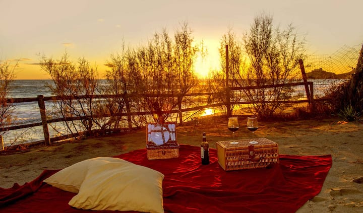 Appartamento Rosso in riva al mare
