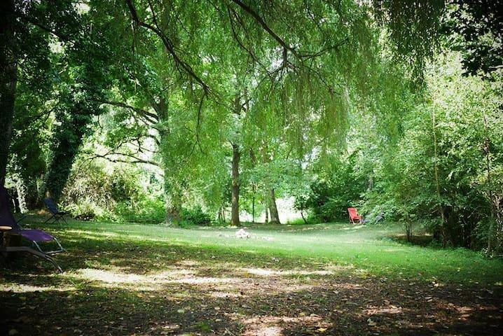 Le parc du Domaine Pastel