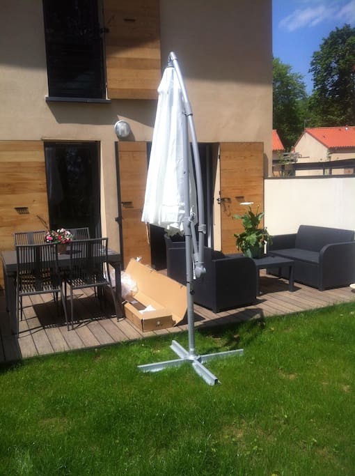 Jardin et terrasse accessible