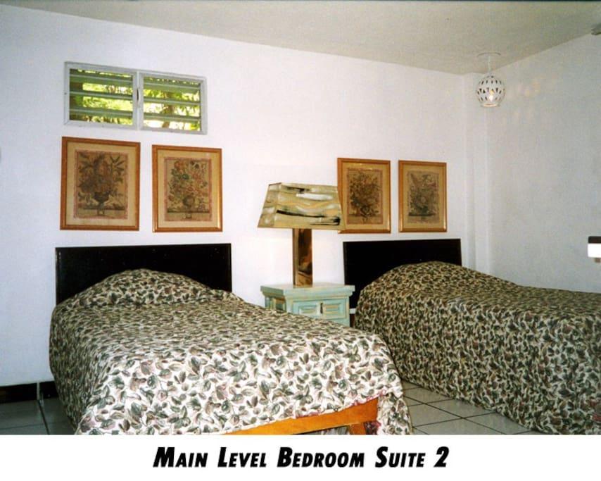 Plaza Level bedroom #2