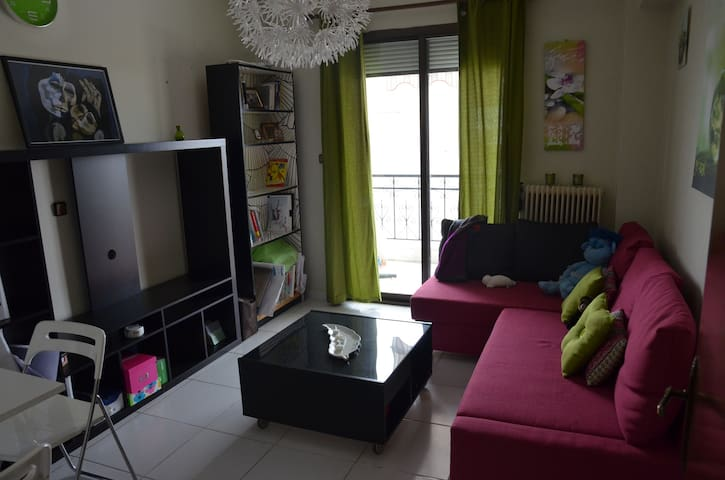Cozy, central apartment next to bus station (ΚΤΕΛ) - Florina - Apartament
