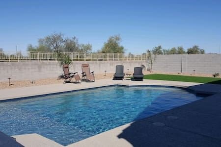 NEW 4 Bedroom house with a  Heated pool and HotTub
