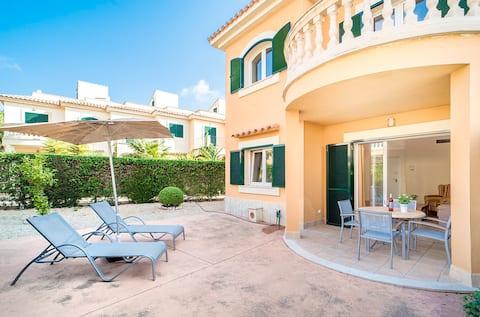 Ferienhaus in Wohnanlage nahe Es Trenc Strand