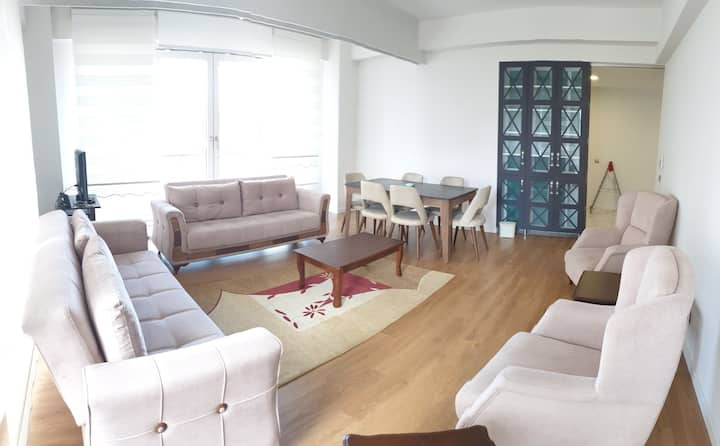4+1 apartment full furniture with beautiful view