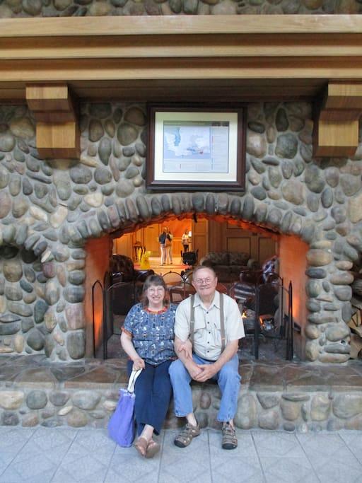 Taken at Bonneville Hot Springs Spa at the Columbia Gorge