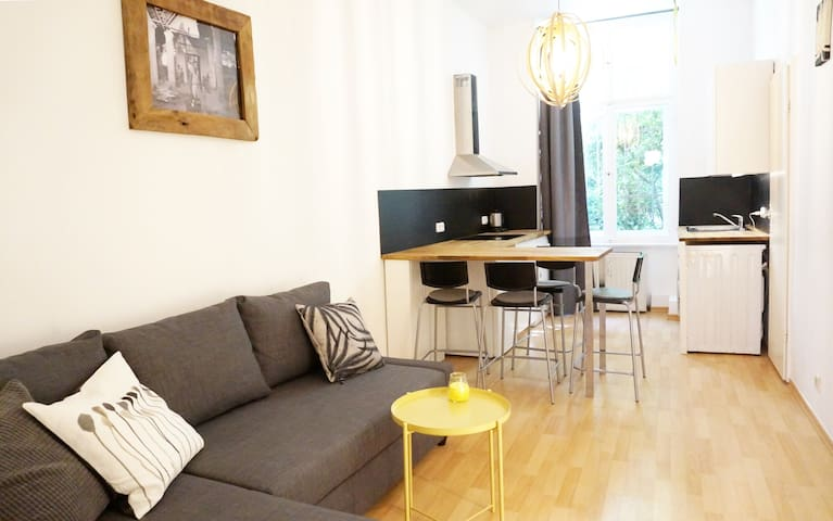 One bedroom apartment in popular Prenzlauer Berg