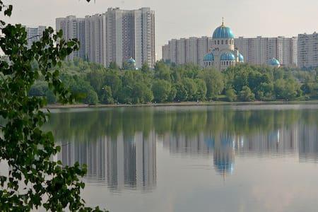 Уютная квартира в Орехово - Moskva